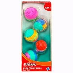 Развивающие мячики 5 шт фотография 2