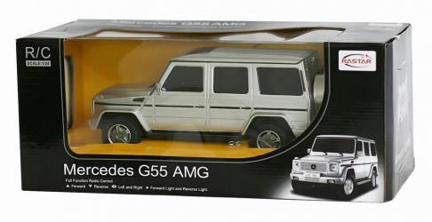 Фото Машина на радиоуправлении Мерседес (Mercedes) G55 AMG 1:24 (30500)