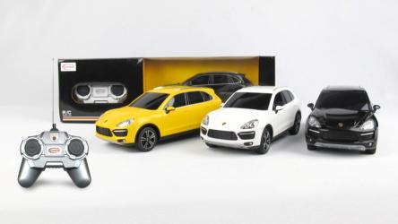 Фото Машина на радиоуправлении Порше Кайен (Porsche Cayenne Turbo) 1:24 (46100)