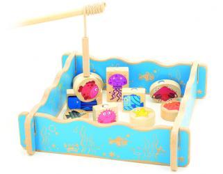 Фото Деревянная игрушка Рыбалка магнитная (Д431)