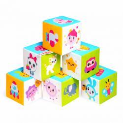 Фото Мягкие кубики Малышарики Предметики (397)