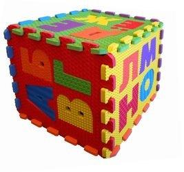 Мягкий коврик-пазл с буквами Русский Алфавит (MТP-30333) фотография 6