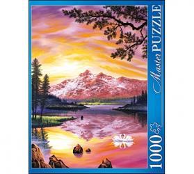 Фото Пазл Озеро и закат Джон Раттенбери 1000 элементов Masterpuzzle (АЛМП1000-6915)