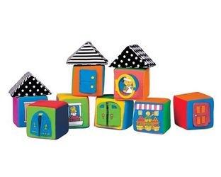 Фото Мягкие кубики в коробке (KI13003)