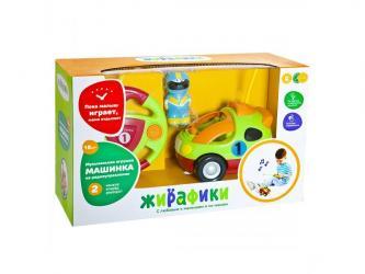 Фото Радиоуправляемая машинка для малышей Гонщик свет, музыка (939503)