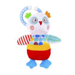 Фото Игрушка подвеска с вибрацией Совёнок Бонни (939375)