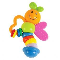 Фото Игрушка Погремушка с прорезывателем Бабочка Мия (939392)