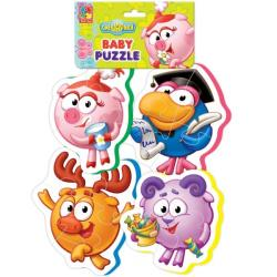 Фото Мягкие пазлы Baby puzzle Смешарики 3 (VT1106-48)