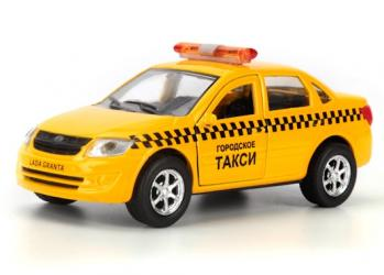 Масштабная модель Лада Гранта Такси (SB-16-41-T) 12 см фотография 1