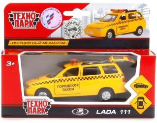 Фото Масштабная модель Лада 111 Такси (SB-16-67-T-WB) 12 см