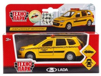 Масштабная модель Лада Калина Такси (SB-16-46-T-WB) 12 см фотография 1