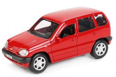Фото Масштабная модель Chevrolet Niva (Шевроле Нива) Гражданская CHEVY-NIVA-MIX 12 см