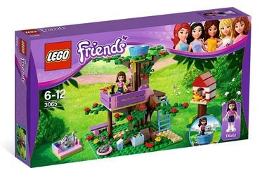 3065 Оливия и домик на дереве (конструктор Lego Friends) фотография 2