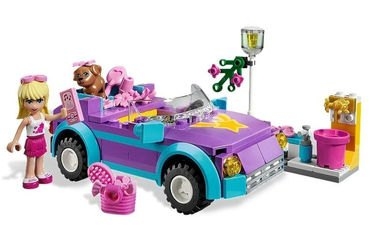 3183 Крутой кабриолет Стефани (конструктор Lego Friends) фотография 1
