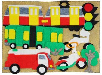 Фото Игра из ковролина на липучках Улица (LIP1041)