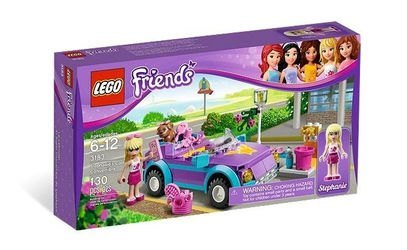 3183 Крутой кабриолет Стефани (конструктор Lego Friends) фотография 2