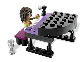 3932 Андреа на сцене (конструктор Lego Friends) фотография 4
