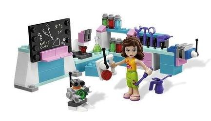 3933 Лаборатория Оливии (конструктор Lego Friends) фотография 1
