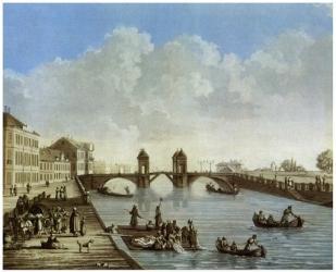 Фото Картина по номерам Аничков мост 40х50 (GX21382)