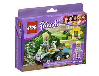 3935 Стефани на квадрацикле (конструктор Lego Friends) фотография 2