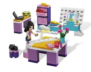 Фото 3936 Дизайн-студия Эммы (конструктор Lego Friends)
