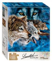 Фото Пазл Найди 12 волков, 1000 элементов, серия Limited Edition (79806)
