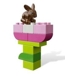 4623 Розовая коробка с кубиками Lego DUPLO(конструктор Lego Duplo) фотография 4