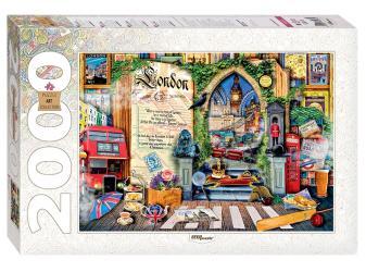 """Фото Пазл """"Лондон. Жизнь - открытая книга"""", 2000 элементов, серия Art Collection (84033)"""
