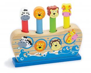 Фото Деревянная развивающая игрушка Веселый ковчег (50041)