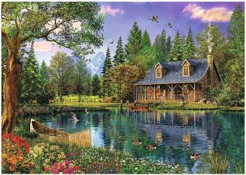 Фото Пазл Дом у пруда, 4000 элементов (45005)