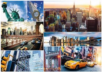 Фото Пазл Нью-Йорк - коллаж, 4000 элементов (45006)