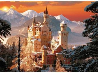 Фото Пазл Зимний замок Нойшванштайн, 3000 элементов (33025)
