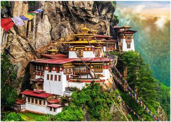 Фото Пазл Тигровое гнездо, Бутан, 2000 элементов (27092)