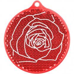 Фото Светоотражатель подвеска Роза (51012)