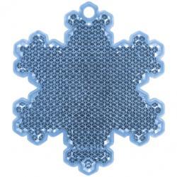 Светоотражатель подвеска Снежинка (51007) фотография 2