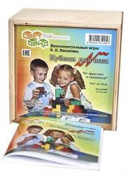 Фото Игры Никитина Кубики для всех деревянные в фанерной коробке