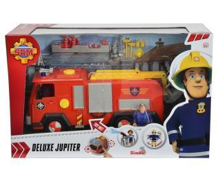 Фото Игрушечная Пожарная машина Пожарный Сэм (звук, свет, вода)