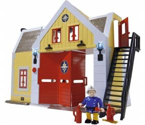 Фото Игровой набор Пожарная станция со звуком и светом Пожарный Сэм