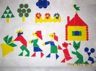 """Фото Конструктор из ковролина """"Репка"""" с ковриком"""