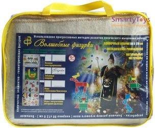 Набор из ковролина Блоки Дьенеша с ковриком фотография 2