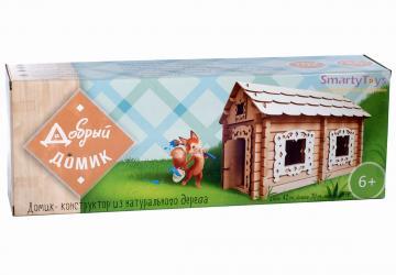 Конструктор из бревнышек деревянный Добрый домик (7970) фотография 2