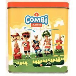 Пазлы для детей Комби 1 25 дет (13678) фотография 1