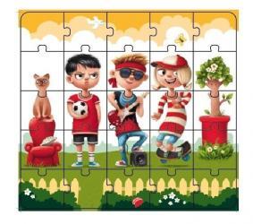 Пазлы для детей Комби 1 25 дет (13678) фотография 2