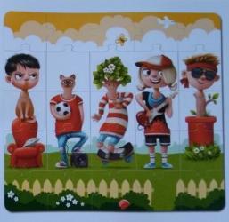 Пазлы для детей Комби 1 25 дет (13678) фотография 3