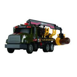 Фото Игрушечный грузовик Лесовоз с манипулятором (3806001)