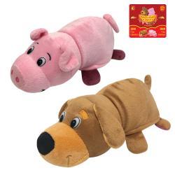 Фото Игрушка Вывернушка 2 в 1 Собака-Свинья 20 см (Т13797-18)