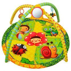 Фото Мягкий развивающий коврик для малышей Летняя полянка