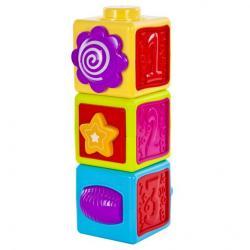 Фото Развивающая игрушка Мультикубики