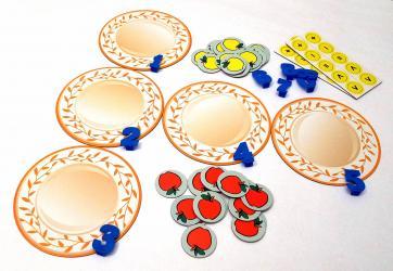 Учебно-игровое пособие Яблоки на тарелке фотография 3