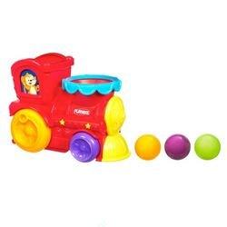 Фото Развивающая игрушкаПаровозик с шариками (31942)